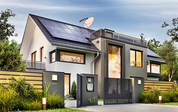 puertas automáticas y energía solar
